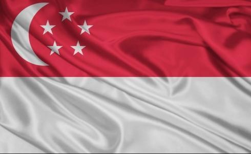 علم سنغافورة