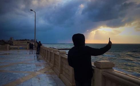 طقس فلسطين -  بحر غزة