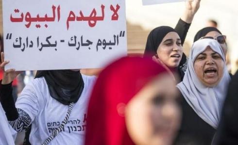 احتجاجات ضد هدم المنازل في الدال المحتل