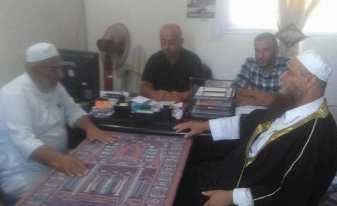 """""""التواصل الجماهيري"""" يزور مركز شرطة الشيخ رضوان بغزة"""