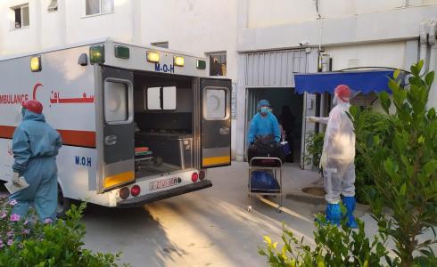 تفشي فيروس كورونا في غزة