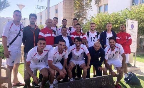 منتخب فلسطين لكرة الطائرة