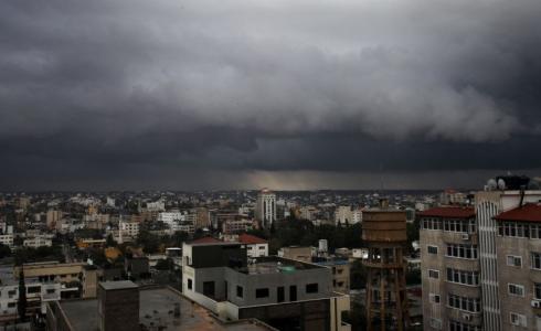 طقس فلسطين أمطار وعواصف رعدية