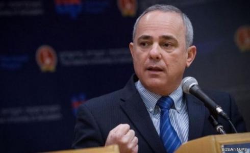 وزير الطاقة في حكومة الاحتلال يوفال شتاينيس