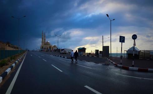 الطقس في غزة