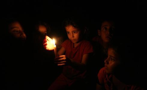 كهرباء غزة -ارشيف-
