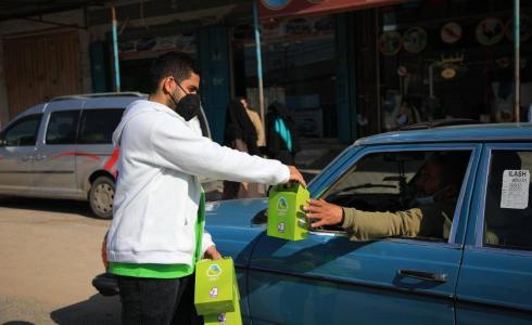إطلاق حملة كمامتك أمانك في قطاع غزة