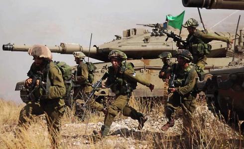 الجيش الاسرائيلي في الجولان -ارشيف-