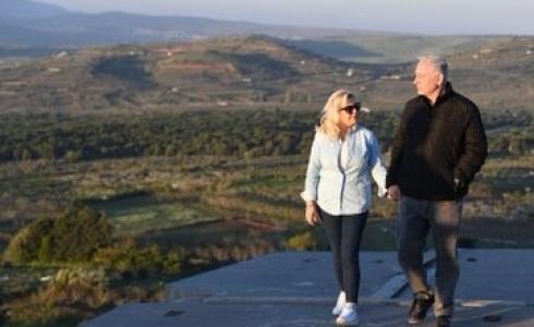 بنيامين نتنياهو رئيس الحكومة الإٍسرائيلية وزوجته سارة