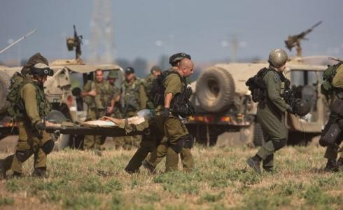 إصابة جندي في جيش الاحتلال الإسرائيلي - أرشيف