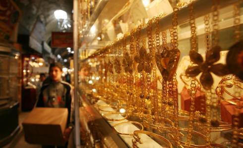 سوق الذهب في غزة