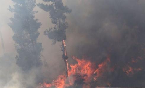 حريق في غلاف غزة بفعل طائرة ورقية- أرشيفية