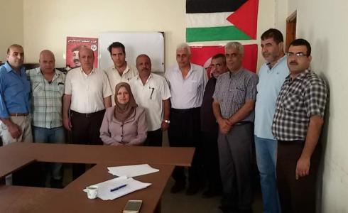""""""" فتح """" تلتقي قيادة حزب الشعب بقطاع غزة"""