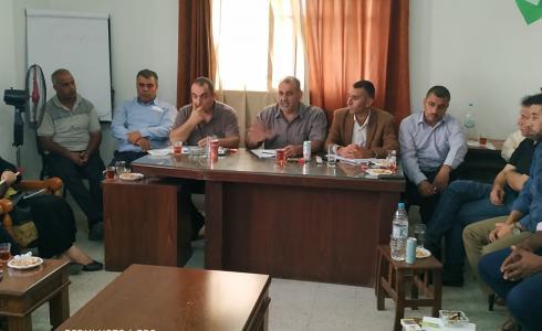 اجتماع لحركة فتح في غزة