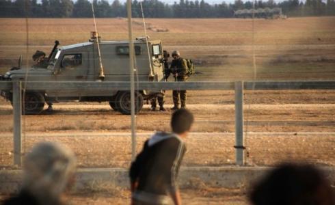 جيش الاحتلال الإسرائيلي على حدود غزة - ارشيفية