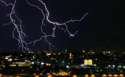 المنخفض الجوي يؤثر على طقس فلسطين