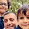 الطبيب الفلسطيني منذر إبراهيم قعدان وأفراد عائلته