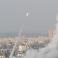 صواريخ من غزة باتجاه إسرائيل