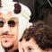 الأميرة دلال بنت سعود بن عبدالعزيزبرفقة والدها