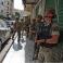 جندي لبناني أثناء الاشتباكات في بيروت قبل قليل (رويترز )