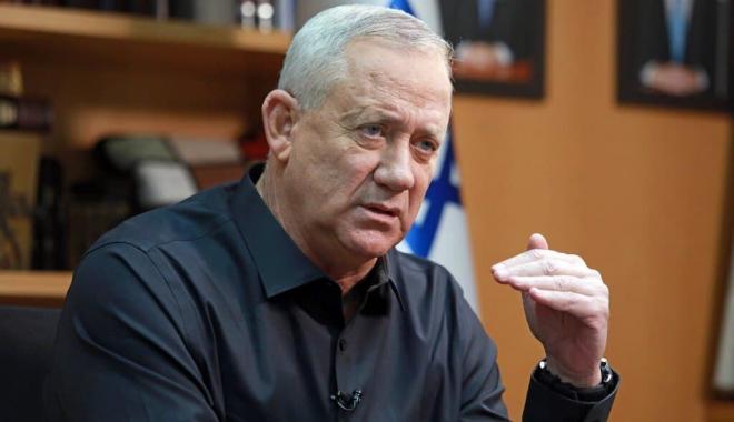 وزير الجيش الإسرائيليّ بيني غانتس