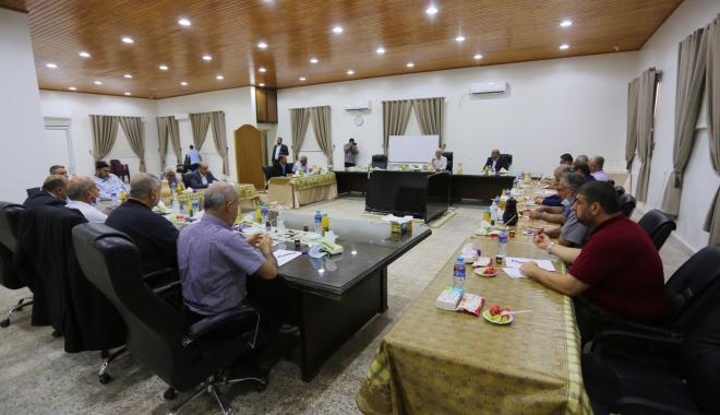 اجتماع الفصائل في غزة