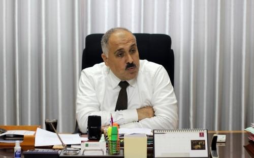 أيمن عابد وكيل وزارة الاقتصاد بغزة
