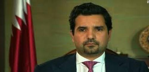السفير القطري في واشنطن مشعل بن حمد آل ثاني إ
