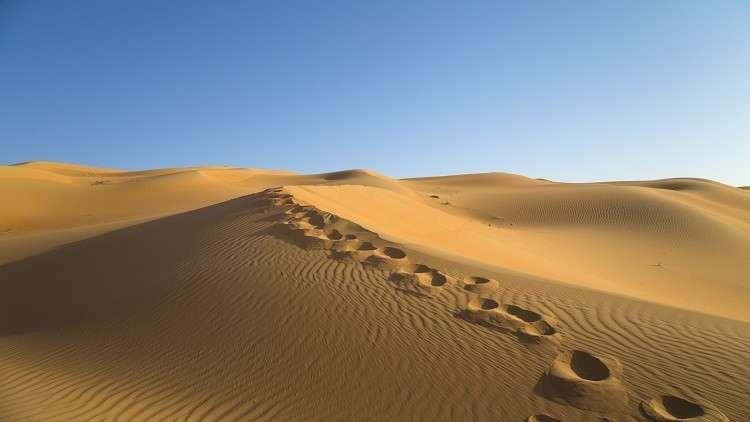 معالم صحراء الربع الخالي تتغير بفعل إعصار وكالة سوا الإخبارية
