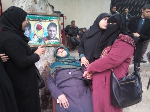 اعتصام أهالي شهداء حرب 2014 اليوم