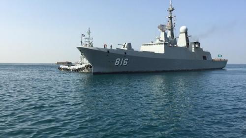 سفينة تابعة للبحرية السعودية