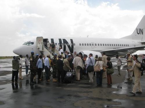 المساعدة الموحدة: اقتراح المطار الأممي في غزة فرصة للشرعية الفلسطينية