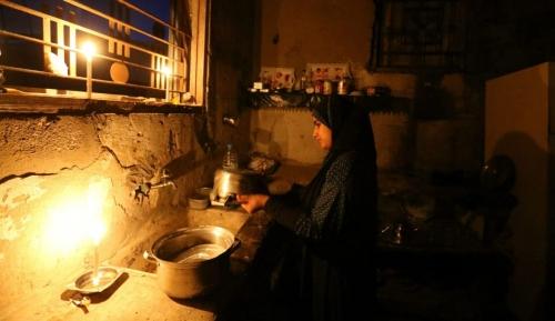 أزمة الكهرباء بغزة/ توضيحية