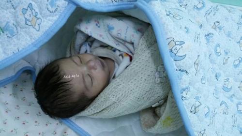 الطفل الرضيع محمد السويركي